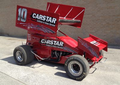 Custom Graphics Wraps - Carstar Race Car