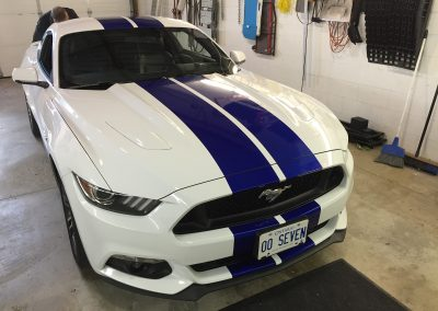Custom Graphics Wraps - Mustang GT