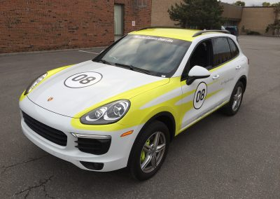 Custom Graphics Wraps - Pfaff Cayenne