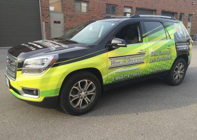 Full Car Wraps - Hoyes GMC