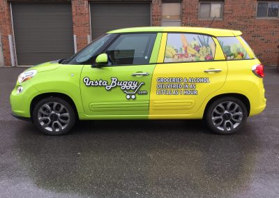 Full Car Wraps - Instabuggy Fiat
