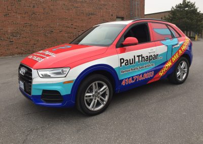 Full Car Wraps - Thapar Audi