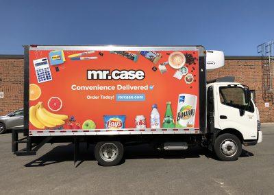 Full Truck Wraps - Mr Case Cube
