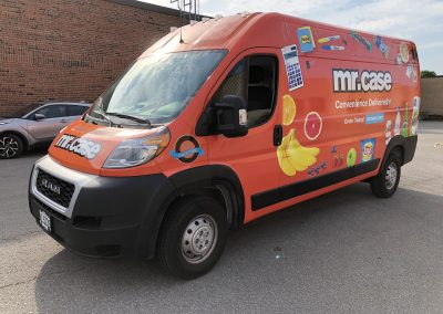 Full Truck Wraps - Mr Case Promaster