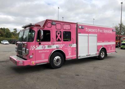 Full Truck Wraps - Toronto Fire