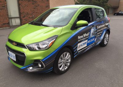 Partial Car Wraps - CSN Spark