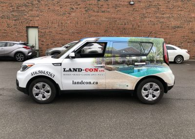 Partial Car Wraps - Landcon
