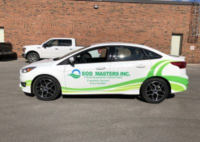 Partial Car Wraps - Sodmasters