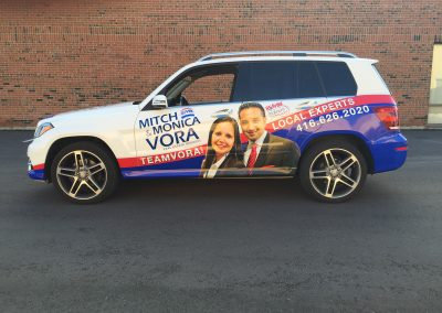 Partial Car Wraps - Vora MB