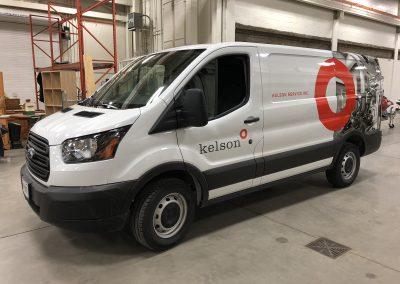 Partial Truck Wraps - Kelson