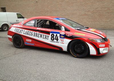 Race Car Graphics Wraps - Betz Honda 84