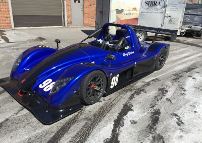 Race Car Graphics Wraps - Borland Radical