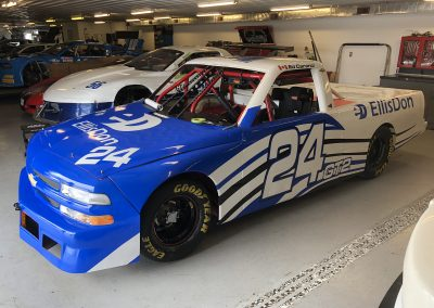 Race Car Graphics Wraps - Caranci Silverado