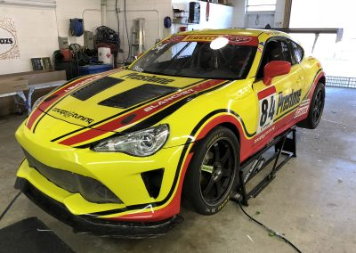 Race Car Graphics Wraps - Race Car Graphics - Betz Racing
