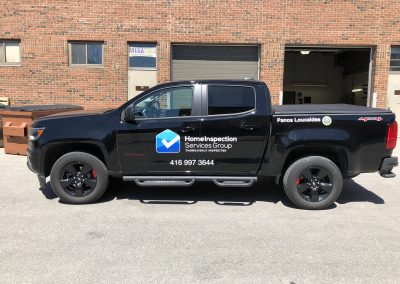 Truck Lettering & Graphics - Home Inspection