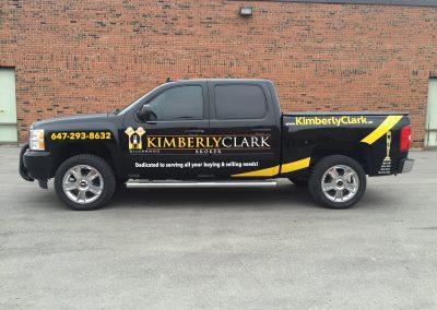 Truck Lettering & Graphics - Kim Clark