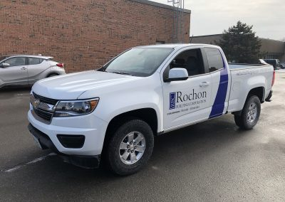 Truck Lettering & Graphics - Rochon Colorado