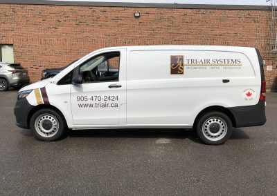 Truck Lettering & Graphics - Tri Air Metris